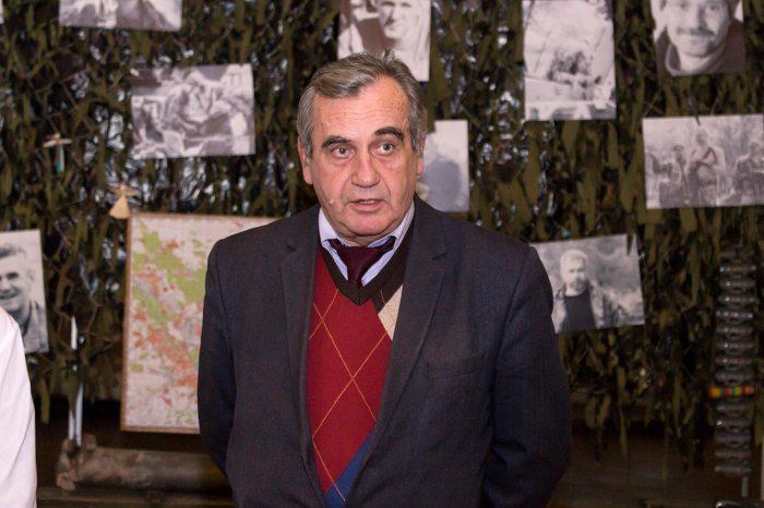 Завідувач відділом Музею визвольної боротьби України Володимир Петрович Бойко