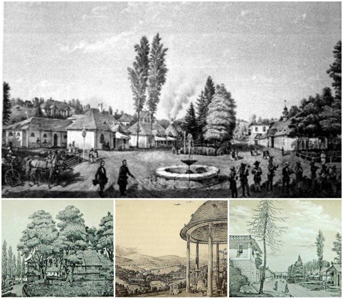 Як зароджувався курорт в Трускавці…