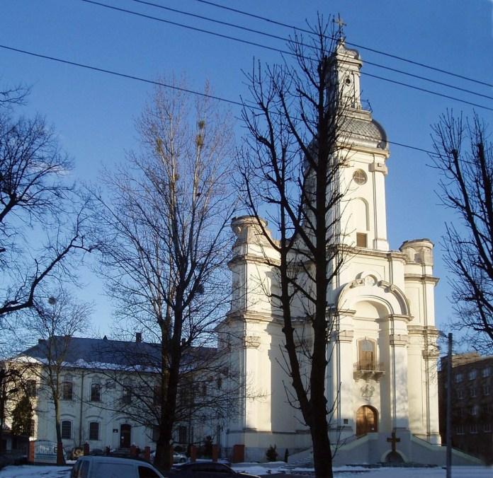 Храм Святої Трійці – колишній костел монастиря сакраменток, сучасний вигляд