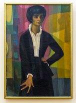 Мирон Левицький. Портрет дружини Галини. 1965 рік, полотно, олія