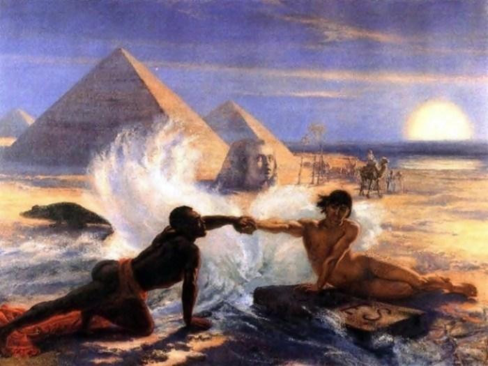 Остання картина циклу - «Суецький канал»