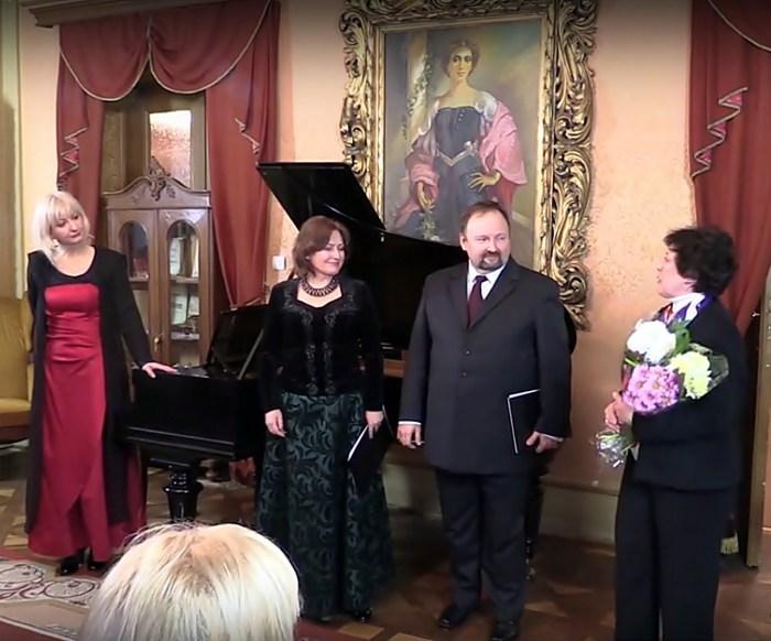 Концерт пам'яті відбувся в домі Соломії Крушельницької