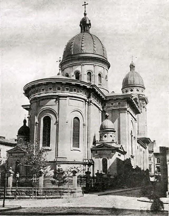 Церква Преображення Господнього, 1906 р. (фото М.Мюнца)