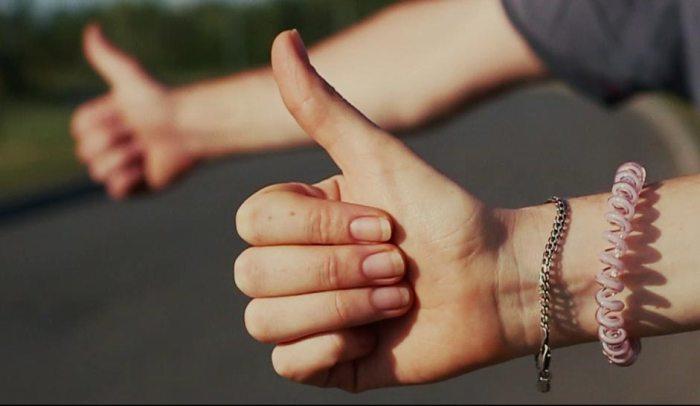 Кадр з кліпу арт-фольк гурту Troye Zillia під назвою. «Пісня щасливих людей»