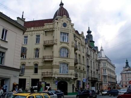 Дім Адольфа Сегаля на проспекті Шевченка №4