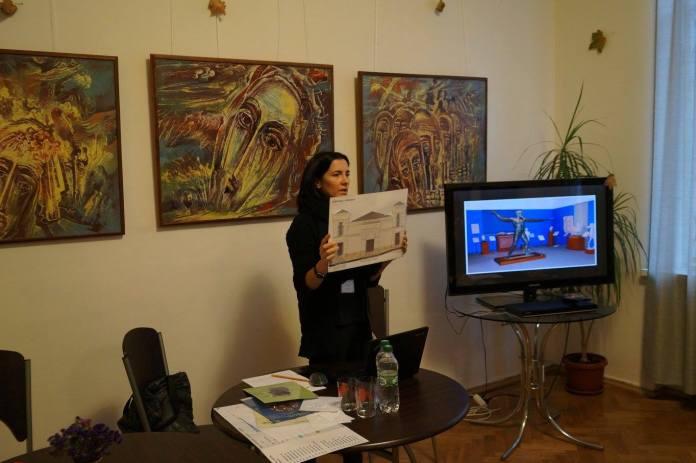 Робота з людьми з особливостями зору в Літературно-меморіального музею-квартири Павла Тичини в Києві