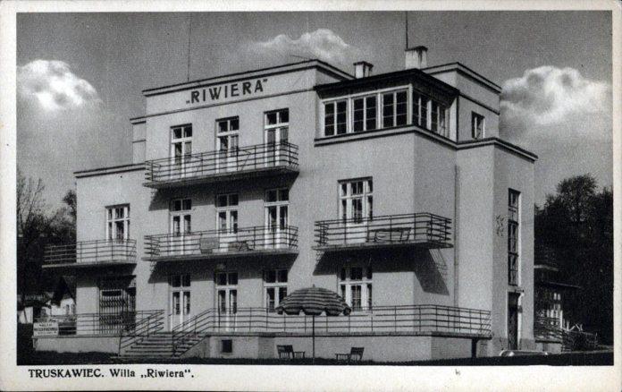 """Трускавець. Курортна вілла """"Рівєра"""", 30-і роки ХХ ст."""