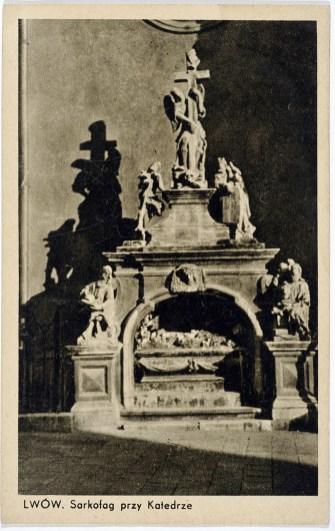 Скульптурна композиція «Гріб Господній», 1930