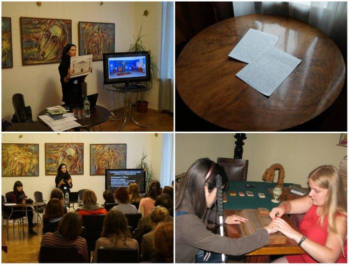 Експозиція, доступна кожному: практики роботи з людьми з особливостями зору в меморіальному музеї