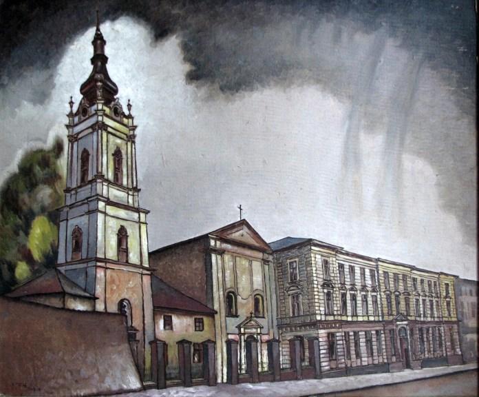 Лев Ґец. Церква Святого Духа (1930-ті роки)