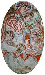 Овал О. Новаківського «Народне мистецтво»