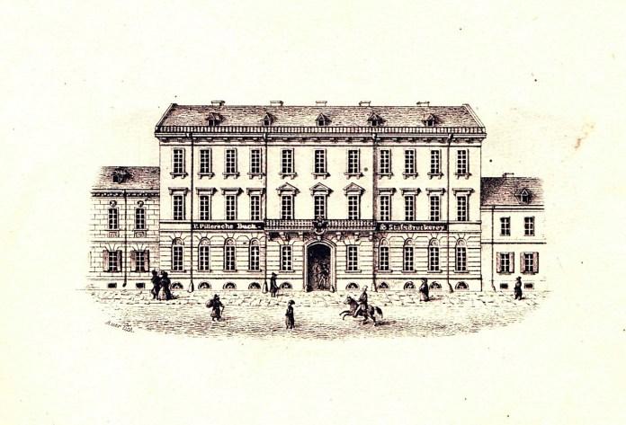 Кам'яниця на вул. Личаківській, 3, що належала родині Піллерів. К.Ауер, 1846-47 рр.