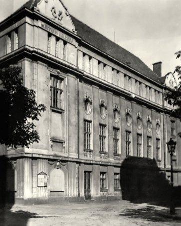 Будівля товариства ім. М. Лисенка, фото 1920-ті роки ХХ століття