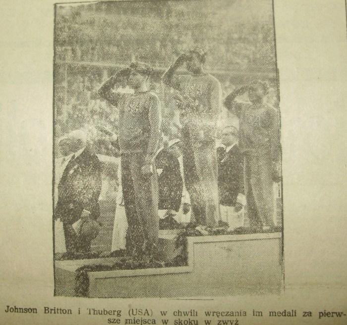 """Ілюстрація до Олімпіади 1936 року з видання """"Telegram Sportowy"""". Фото Є. Гулюк"""