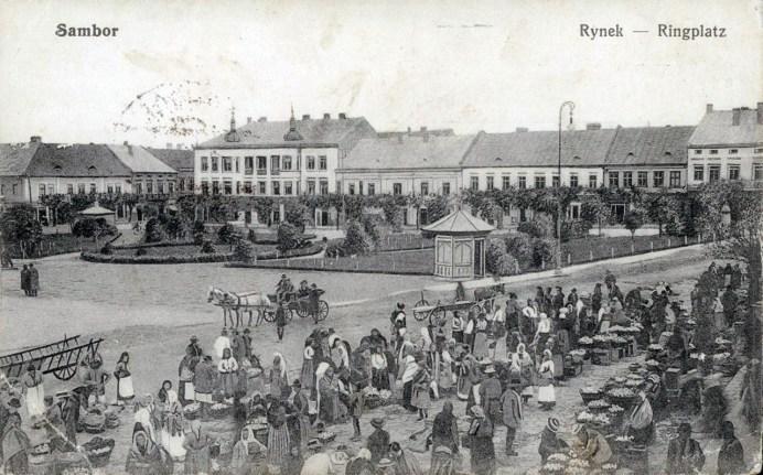 Площа Ринок, 1916 р.