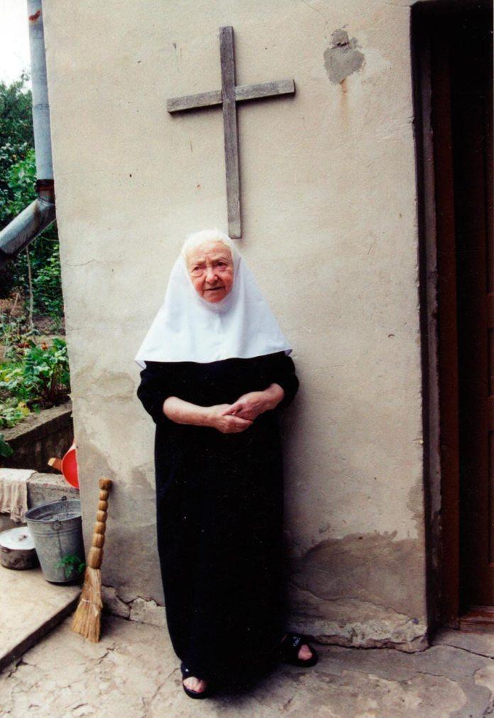 Схимонахиня Марія Ляхер