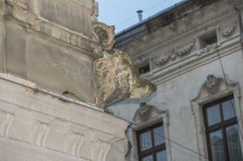 Голова вепра. Леонардо Марконі. Житловий будинок. Вул. Гребінки, 8