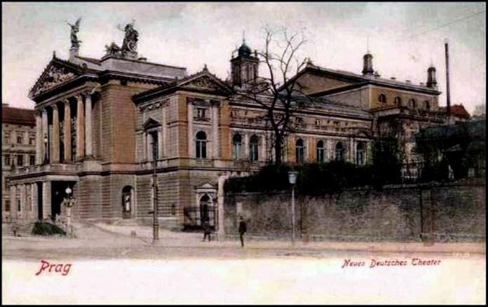 Державна опера у Празі, 1902 р.