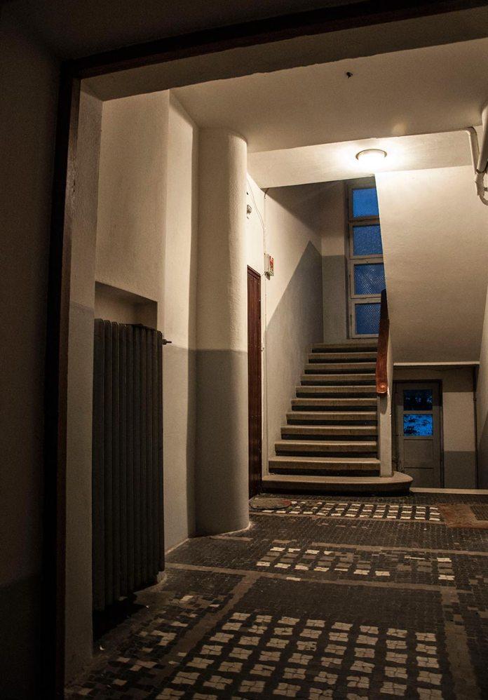 Блок житлових будинків у стилі функціоналізму 47 - 59 на вулиці Дорошенка, фото Мирослави Ляхович