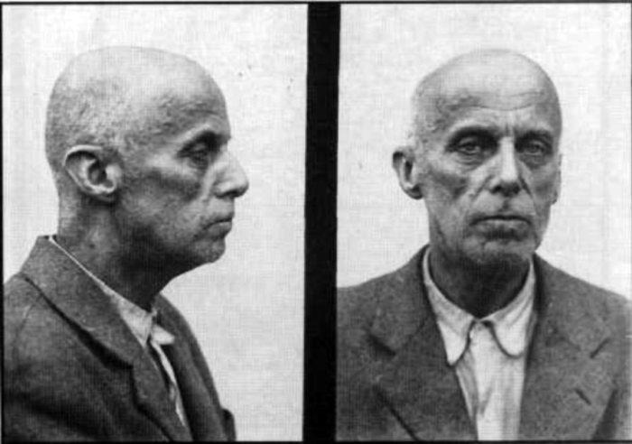 Вільгельм Габсбург незадовго перед смертю в Лук'янівській в'язниці, 1948