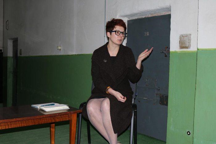 Дослідниця і авторка експозиції Устина Стефанчук