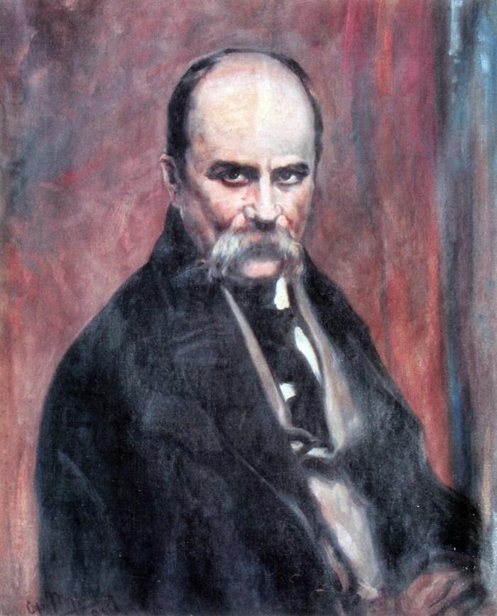 Портрет Тараса Шевченка. 1936 (?)
