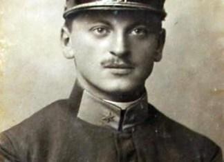 Тарас Франко – вояк австрійського війська. Фото 1916 р.