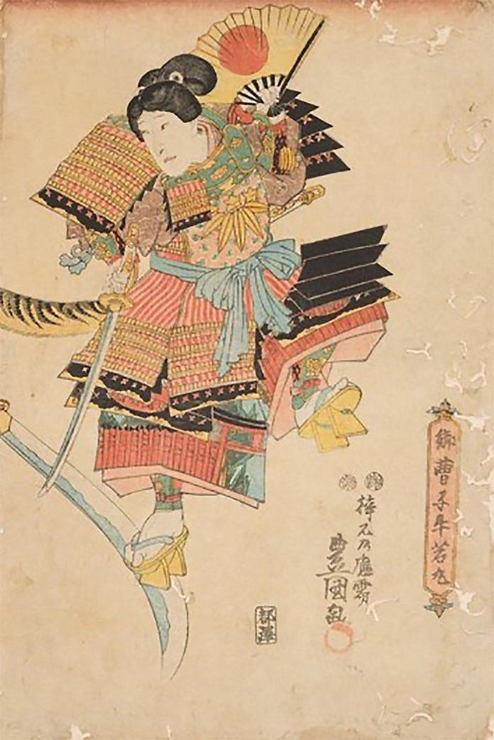"""Експозиція виставки """"Японська гравюра укійо-е """"Світ кабукі"""""""