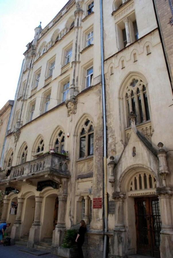 Будинок колишнього театру-вар'єте на вул. Леся Курбаса №3