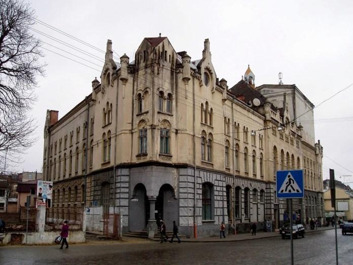 Колишній народний кінотеатр Червоного Хреста, зараз – львівський драматичний театр імені Лесі Українки