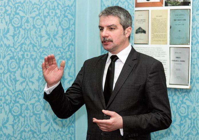 Директор-розпорядник театру імені Марії Заньковецької Тарас Лисак