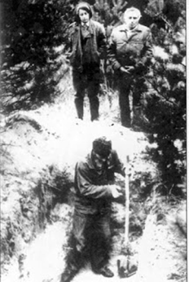 Розкопки могили Михайла Сороки