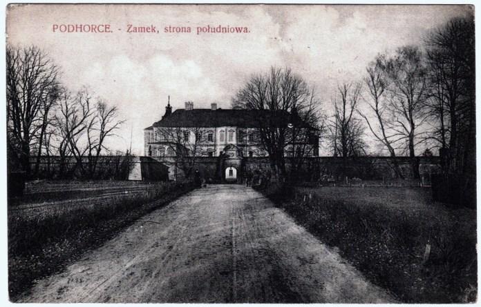 Підгорецький замок, 1914 р.