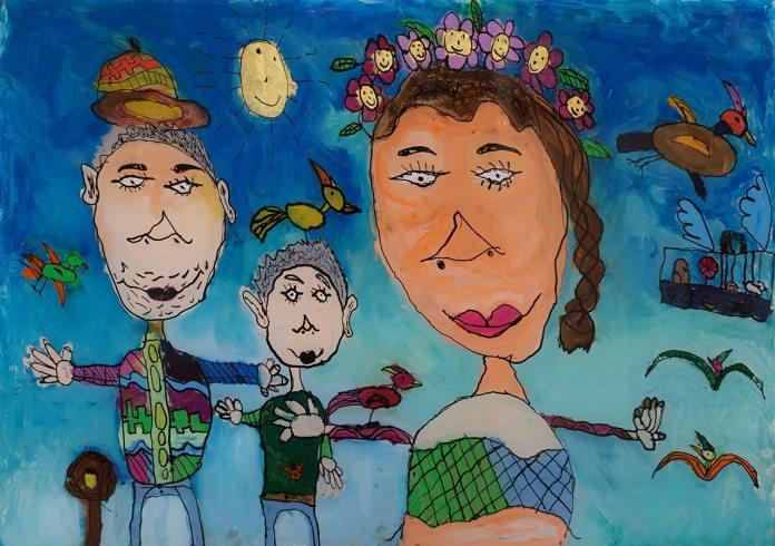 Експозиція виставки дитячих робіт «Коли все живе, цвіте…»