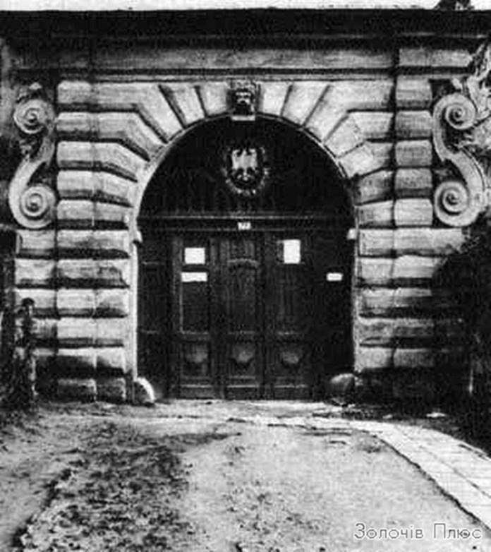 Золочівський замок, перша третина ХХ ст.