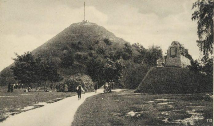 Копець Люблінської унії на Високому Замку. Фото А.А. Ленкевича
