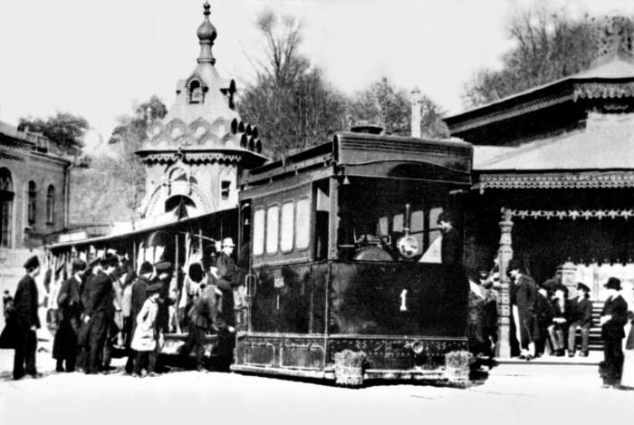 Київський паровий трамвай
