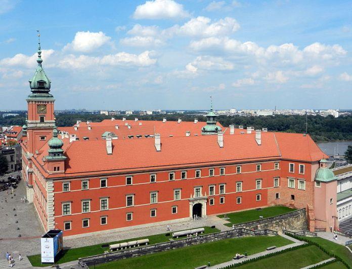 Королівський замок у Варшаві. Фото з https://uk.wikipedia.org