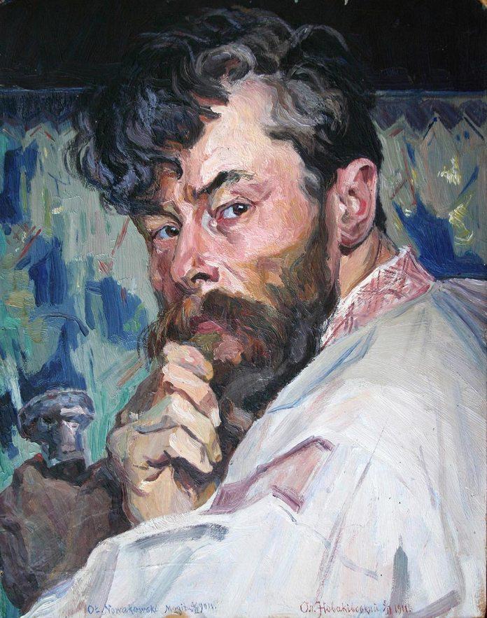 Новаківський Олекса. Автопортрет. 1911.