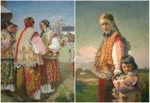 Українська вишиванка. Іван Труш