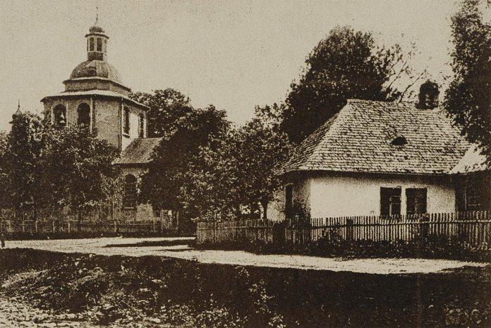 Церква в Старому Мізуні, фото 1930-их років