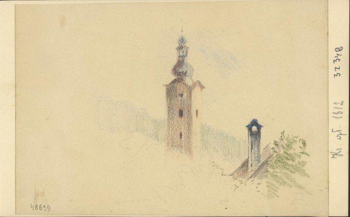 Б. Тепа. Вежа львівської катедри