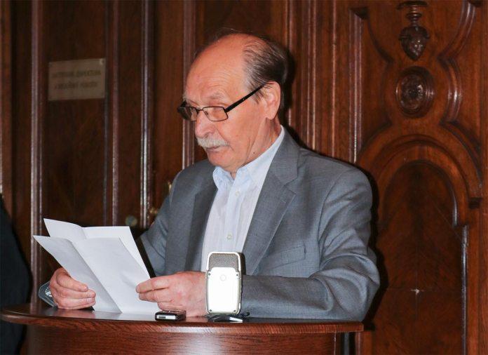 Професор, член НТШ, член-кореспонденту НАН України Микола Ільницький