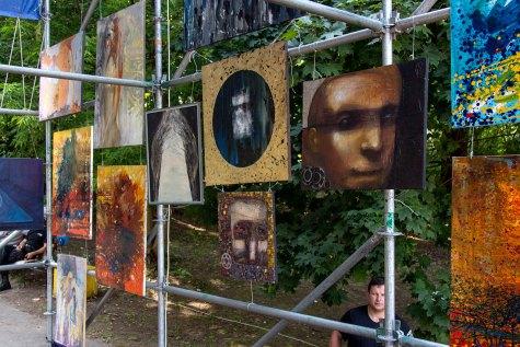 картини АРТ-КУБ в парку культури