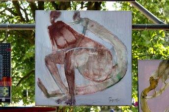 художня робота АРТ-КУБ в парку культури