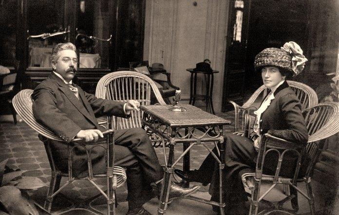 Соломія Крушельницька і Чезаре Річчоні. Віареджо, 1920-ті рр.