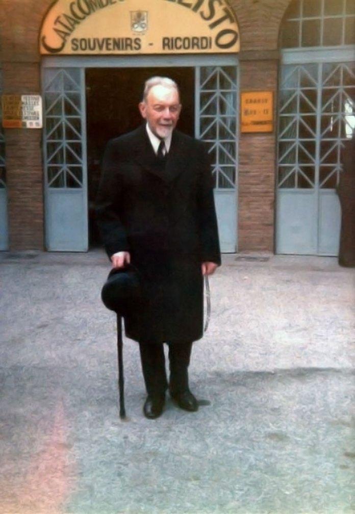 Кир Василій Величковський на схилі літ. 1972 – 1973 рр.
