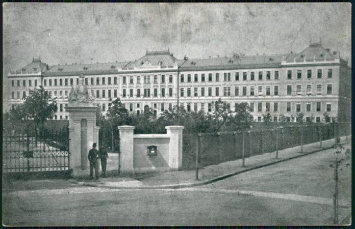 Кадетська школа у Львові, 1914 р.