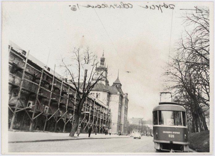 Львів, вулиця Підвальна, фото 1976 року