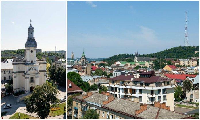 Панорама Львова з даху